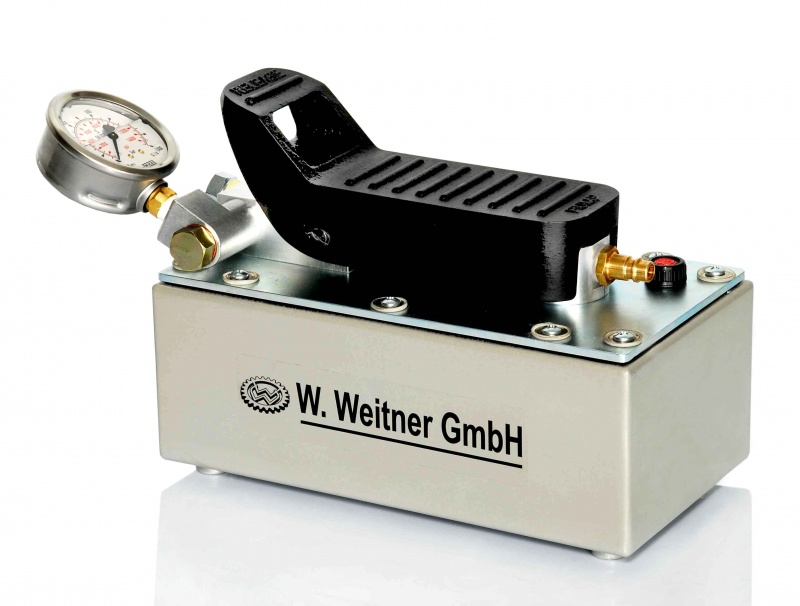 Weitner 700 Bar Air Hydraulic Pumps